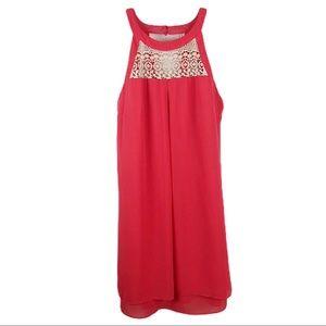 A. BYER Coral Summer Dress